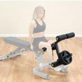 Body-Solid GLDA3 Leg Developer Toevoeging Trainingsbank