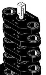 Ketter Kinetic Extra Gewichtenblok 20 KG